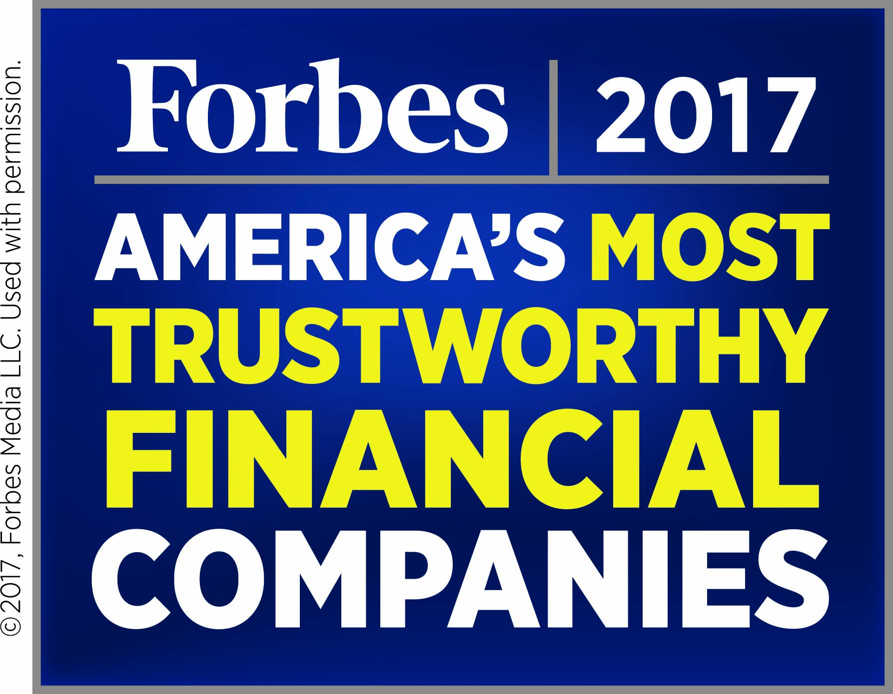 America's 50 Most Trustworthy Financial Companies